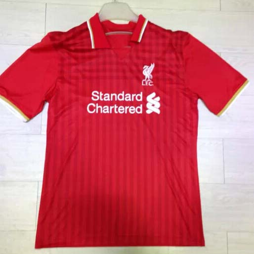 Liverpool 15-16 Home Soccer Jersey