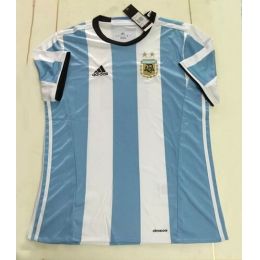 Argentina 2016-2017 Home Soccer Jersey