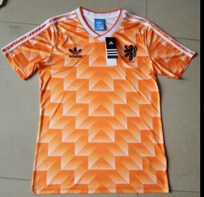 Holland 1990 Retro Soccer Jersey