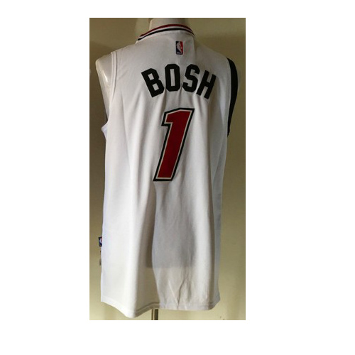 miami heat rosh #1 retro basketball jersey