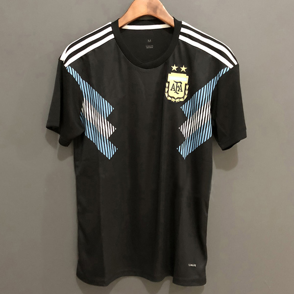 Argentina 2018 world cup away soccer jersey