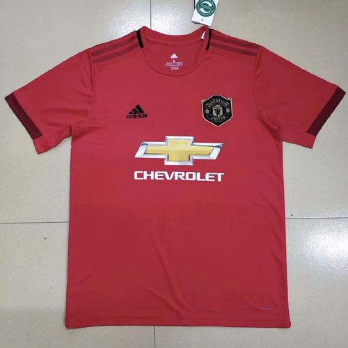 manchester united 19-20 home soccer jersey