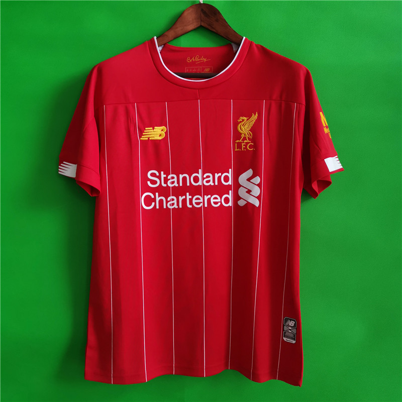 liverpool 19-20 red home shirt